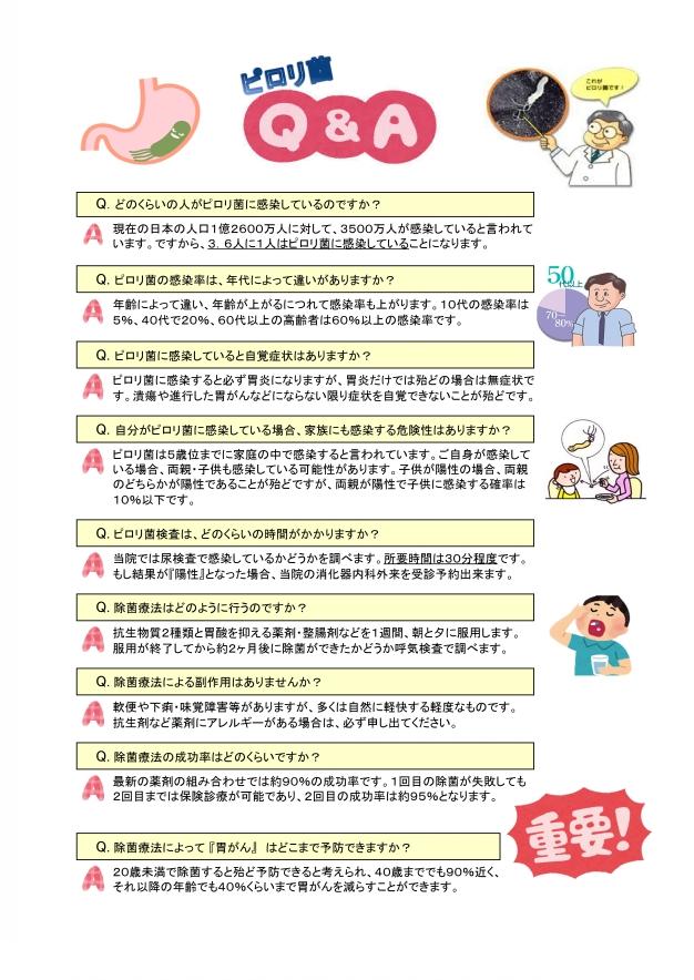 菌 症状 ピロリ