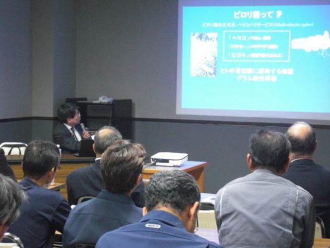 加藤院長が道南石油(株)にて出前講座を行いました。