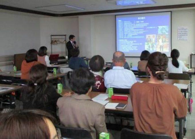 平成29年10月7日(土曜日)当院にて「すこやか研修会」が開催され、加藤院長が講演しました。