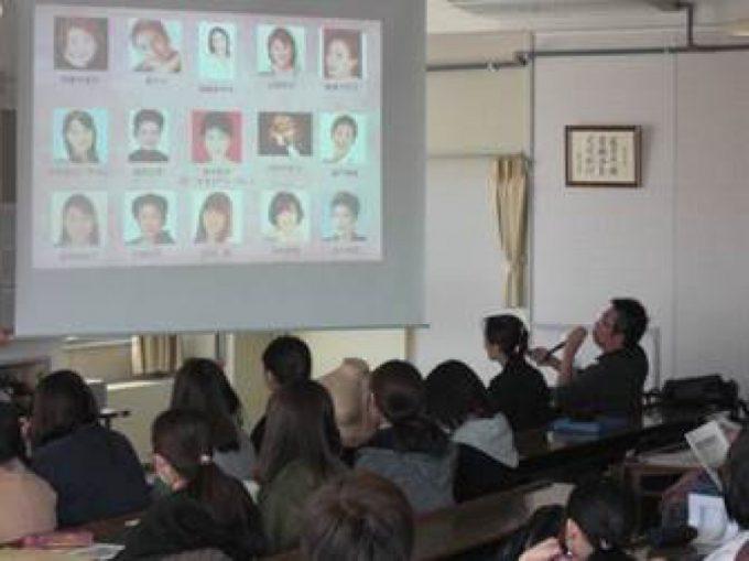 平成30年1月12日(金曜日)小室一輝先生、伊藤みずえ看護師が函館短期大学にて講演しました。