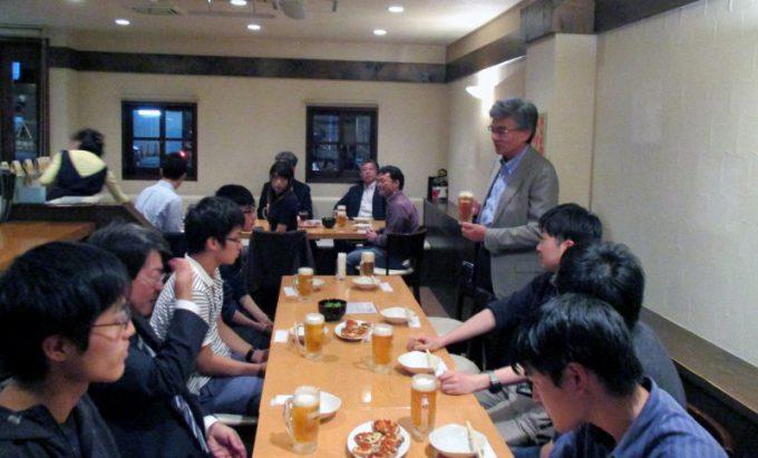 北海道大学医学部学生と勉強会・交流会を開催しました。