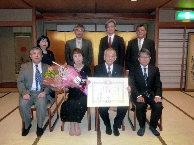 荻田征美名誉院長 叙勲(瑞宝中綬章)伝達式及び祝賀会